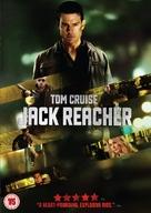 Jack Reacher - British DVD movie cover (xs thumbnail)