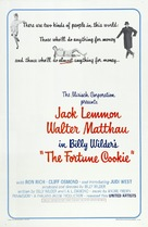 The Fortune Cookie - Theatrical poster (xs thumbnail)
