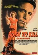 Born to Kill - Spanish DVD movie cover (xs thumbnail)