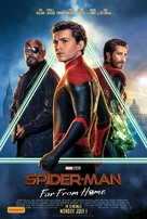 Spider-Man: Far From Home - Australian Movie Poster (xs thumbnail)
