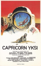 Capricorn One - Finnish VHS movie cover (xs thumbnail)