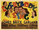 Everybody Sing - Movie Poster (xs thumbnail)