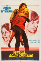 Don't Look Now - Argentinian Movie Poster (xs thumbnail)