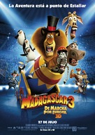 Madagascar 3: Europe's Most Wanted - Spanish Movie Poster (xs thumbnail)