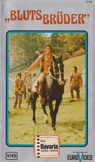 Blutsbrüder - German VHS cover (xs thumbnail)