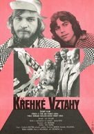Krehké vztahy - Czech Movie Poster (xs thumbnail)