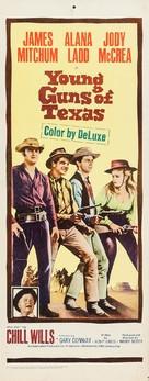 Young Guns of Texas - Movie Poster (xs thumbnail)