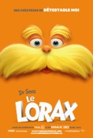 The Lorax - Canadian Movie Poster (xs thumbnail)