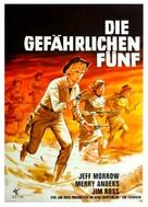 Five Bold Women - German Movie Poster (xs thumbnail)