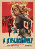The Wild Angels - Italian Movie Poster (xs thumbnail)