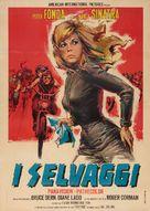 The Wild Angels - Italian Movie Poster (xs thumbnail)