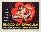 Blood of Dracula - Movie Poster (xs thumbnail)