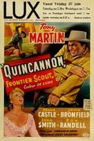 Quincannon, Frontier Scout - Belgian Movie Poster (xs thumbnail)