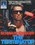 The Terminator - Video release poster (xs thumbnail)