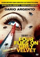 4 mosche di velluto grigio - Finnish DVD movie cover (xs thumbnail)