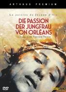 La passion de Jeanne d'Arc - German DVD cover (xs thumbnail)