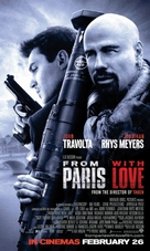 From Paris with Love - British Movie Poster (xs thumbnail)