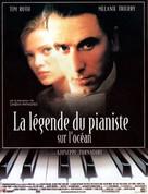 La leggenda del pianista sull'oceano - French Movie Poster (xs thumbnail)