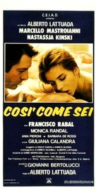 Così come sei - Italian Movie Poster (xs thumbnail)