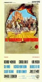 Cheyenne Autumn - Italian Movie Poster (xs thumbnail)