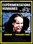 Human Experiments - French Movie Poster (xs thumbnail)