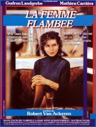Flambierte Frau, Die - French Movie Poster (xs thumbnail)