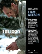 The Grey - For your consideration movie poster (xs thumbnail)