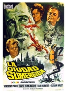 The City Under the Sea - Spanish Movie Poster (xs thumbnail)