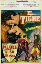 Kiss of Fire - Belgian Movie Poster (xs thumbnail)