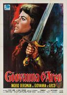 Joan of Arc - Italian Movie Poster (xs thumbnail)