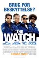 The Watch - Danish Movie Poster (xs thumbnail)