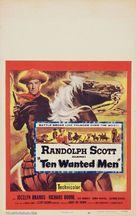 Ten Wanted Men - Movie Poster (xs thumbnail)