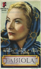 Fabiola - Spanish Movie Poster (xs thumbnail)