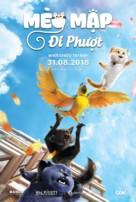 Cats and Peachtopia - Vietnamese Movie Poster (xs thumbnail)