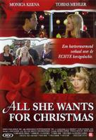 All She Wants for Christmas - Danish Movie Poster (xs thumbnail)
