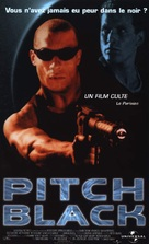 Pitch Black - French VHS movie cover (xs thumbnail)