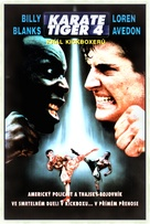 The King of the Kickboxers - Czech DVD movie cover (xs thumbnail)
