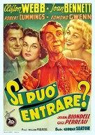 For Heaven's Sake - Italian Movie Poster (xs thumbnail)