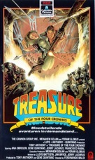 El tesoro de las cuatro coronas - VHS cover (xs thumbnail)
