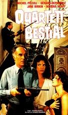 Sept morts sur ordonnance - German VHS movie cover (xs thumbnail)