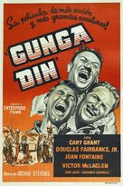 Gunga Din - Argentinian Re-release poster (xs thumbnail)