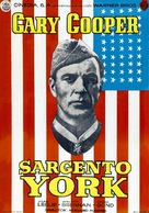 Sergeant York - Spanish Movie Poster (xs thumbnail)