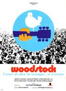 Woodstock - French Movie Poster (xs thumbnail)