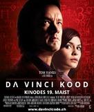 The Da Vinci Code - Estonian Movie Poster (xs thumbnail)