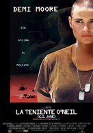 G.I. Jane - Spanish Movie Poster (xs thumbnail)