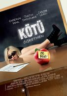 Bad Teacher - Turkish Movie Poster (xs thumbnail)