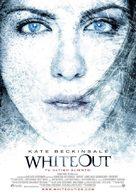 Whiteout - Spanish Movie Poster (xs thumbnail)
