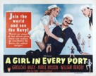 A Girl in Every Port - Movie Poster (xs thumbnail)