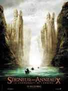 The Lord of the Rings: The Fellowship of the Ring - French Movie Poster (xs thumbnail)