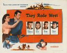 They Rode West - Movie Poster (xs thumbnail)